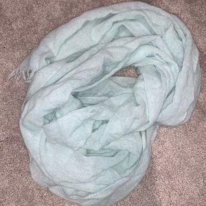Super sold aqua blue/green scarf